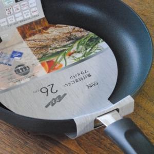 新しいフライパン * カインズホームの焦げ付きにくいプライパン