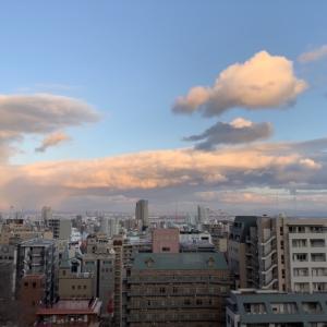 今日の散歩は新神戸駅ちかくまで