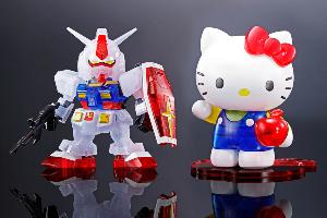 ハローキティ/RX-78-2 ガンダム[SD EX-STANDARD][クリアカラー]、ガンダムベース東京・福岡で、