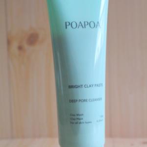 泡立て不要の洗顔料 POAPOA(ポアポア) ブライトクレイペースト