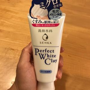 資生堂 洗顔専科 パーフェクト ホワイトクレイでミクロ濃密泡!