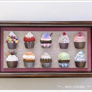 人気のカップケーキシリーズ