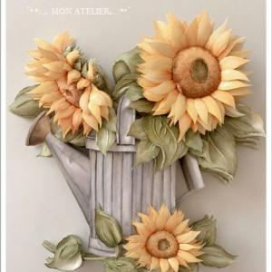 冬の花でなく、夏の花作品