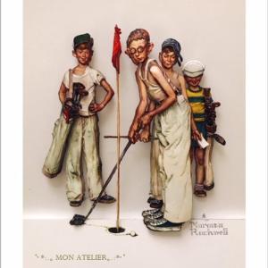 ノーマンロックウェル作品がまた増えました