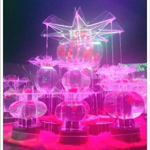 光と金魚の幻想的な世界「アートアクアリウム」