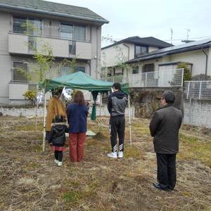 佐久市岩村田にて地鎮祭を執り行いました