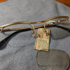 45眼鏡が復活です