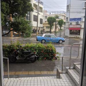 恵みの雨だろうか