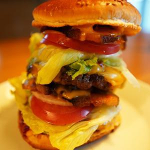 コロナ後遺症との闘い日誌(発症419日目)巨大ハンバーガー