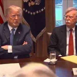 元側近のボルトン氏の証言に怯えるトランプ大統領