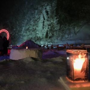奥飛騨冬物語「タルマかねこおりライトアップ」