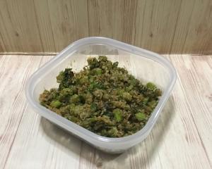 カブラの葉の佃煮。