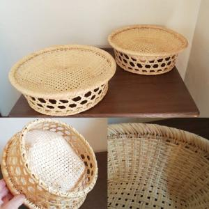竹の水切りかご