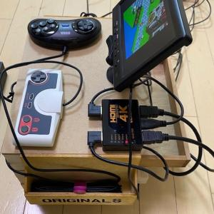 ミニ復刻ゲーム機用コンソール完成版