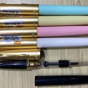 万年筆メーカー以外の染料インク用に、永生パーカー風5本セット2千円