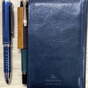 マイクロ5(M5)の筆記具をM300からプラチナ ダブル3アクションポケットに