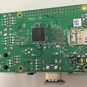 Raspberry Pi 2BからmicroSDが飛び出したのでスロットのバネを抜いた。