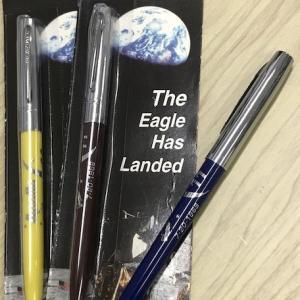 フィッシャースペースペン アポロ11号月面着陸50周年記念ボールペンを見て感慨深い