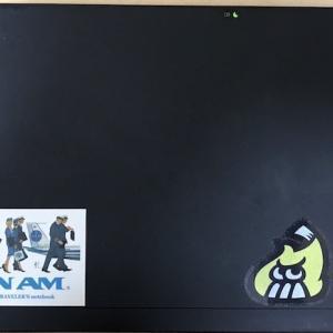 ThinkPad X220とX250を重ねてみた。