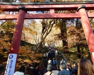 紅葉の名所・・・談山神社