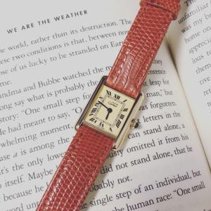 初めてのヴィンテージの時計購入