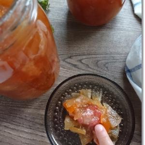 【おうちで過ごそう】王子と姫とで作ったジャム作り☆柚子×苺×林檎ジャム