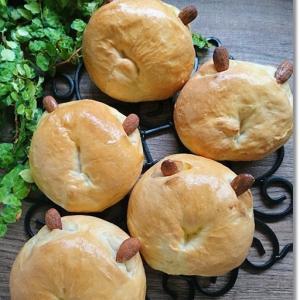 ねこちゃんのパン、作って!と王子に言われて。。。と姫は「ジュッボンあくの!」