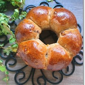 クグロフを焼く予定が(笑) ふわっふわなフルーツリングパンとヘロッヘロなワンオペ曜日