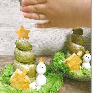 【クリスマスディナー第二弾】子供だけのクリスマスご飯とお正月飾り♪そして年賀状は?