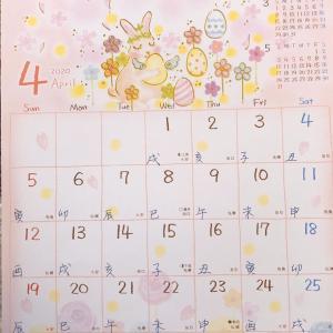 ◆2020年4月の運気と本日の運気