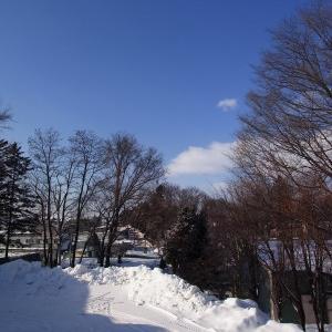 今朝の北見も冬のオホーツクブルー青空がどんどんと曇り空【ショップきたみさん!】新装開店