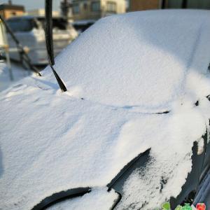 今日の北見も冷え込んで、愛車のエンジンが文句言ってます(;'∀')