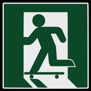 スケーター限定ではないです、シャカシャカとか・・・。
