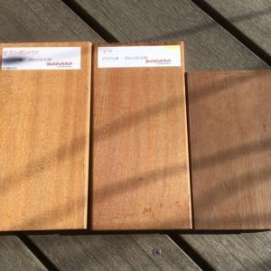 ウッドデッキ床材の選定