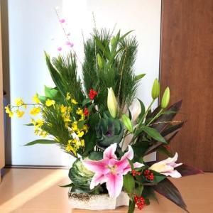 お正月用のお花