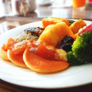 スライドショー / ホテルニューオータニの朝食(タワー・ビュッフェ)