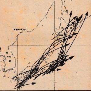 10月の台風は関東地方に上陸するのが多い