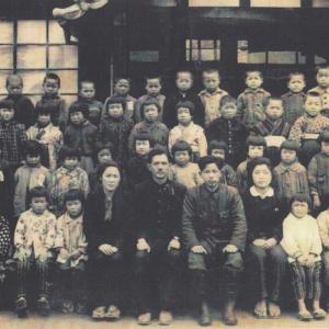 戦後直ぐの小学校一年生