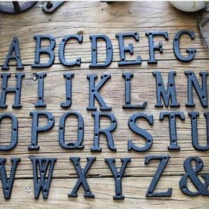 アルファベットプレート
