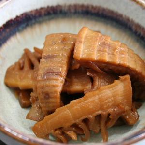 国産孟宗竹で本格的なメンマ作り