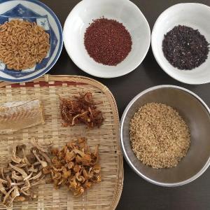 雑穀粥4種