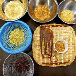 最近作った雑穀粥2種