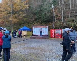 第20回トラウトキング選手権大会地方予選第一戦ペア戦 平谷湖FS