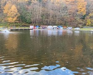 トラウトキング選手権大会地方予選第一戦トライアル戦 平谷湖FS