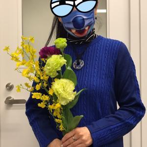 花束のお裾分け