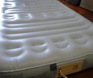 Aero Bed 修理4回目