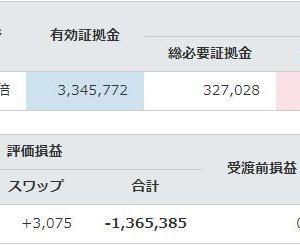 8/24週は利益667円