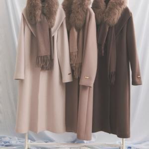 今年のコートは。。