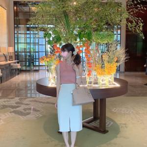 パレスホテルでランチ