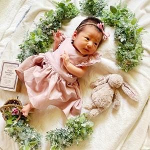 姪っ子誕生♡出産祝いとニューボーンフォト